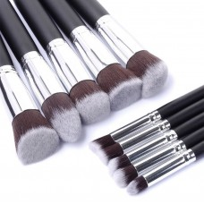 Kabuki 10pc Makeup Brush Set